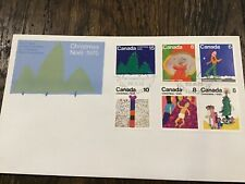 Canada Fdc - Christmas 1975 Complete Combo Set Of 6 - Cacheted!