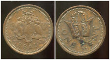 BARBADE 1 cent 1986