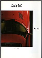 Saab 900 1989-90 UK Market Sales Brochure Convertible Carlsson Turbo 16S 16 S i