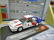 MITSUBISHI Galant VR4 VR-4 VR 4 4x4 Rallye Monte Carlo 1991 #4 Salonen IXO 1:43