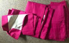 "Hot Pink Curtains Blackout Ellory Window Treatment Set of 42"" by 63"""