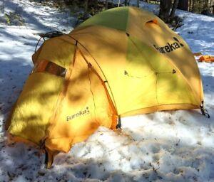 Eureka K-2 XT Tent: 3-Person 4-Season, includes NEW fly