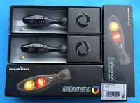 2 x Kellermann Blinker Micro 1000 DF Dark, LED, 143.100, schwarz, black, Paar