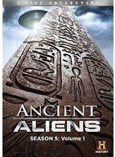 Ancient Aliens ~ 5th Season 5 Five (PART ONE) ~ BRAND NEW 3-DISC DVD SET