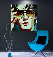 JARVIS COCKER - PULP - PRINT ON CANVAS - Stylish Framed Wall Art - Choose Size