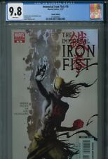 Immortal Iron Fist 10 CGC 9.8 Kaare Andrews Variant Zombie Cover New Avengers