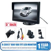 5 inch HD 800*480 TFT LCD Screen Monitor Car Rearview Rear Reverse Backup Camera