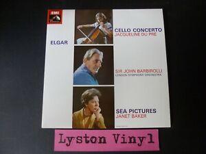 """Sir Edward Elgar - Cello Concerto/Sea Pictures 12"""" Vinyl LP"""