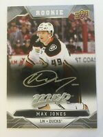 UPPER DECK 2019 - 2020 MVP MAX JONES ROOKIE # 236 | 1 CARD