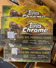 2000 Topps Chrome Football Hobby 24 Pack Box - NEW SEALED - REFRACTORS PSA ?!!