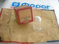 NOS MOPAR 1951-58 PLYMOUTH DODGE CHRYSLER DESOTO LICENSE LAMP LENS