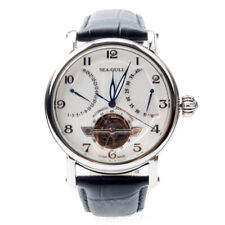 Seagull Flywheel Retrograde Date Power Reserve Automatic Men's Watch 819.317