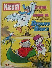 ¤ LE JOURNAL DE MICKEY n°1326 ¤ 27/11/1977 BERNARD ET BIANCA