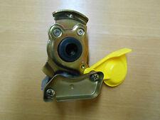 Kupplungskopf Druckluft Versorgung Automatik Gelb M16