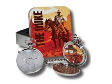 John Wayne Men's Talking Pocket Watch in Tin Box - BRAND NEW FREE SHIPPING