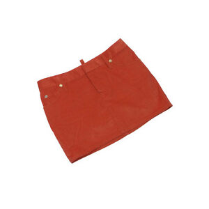 DSQUARED2 Skirts Red Gold Woman Authentic Used L2095
