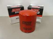 BALDWIN  B233  ENGINE OIL FILTER  LOT OF 2