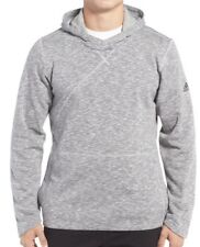 Adidas Mens CrossOver Pullover Hoodie Light Solid Grey Size M NWT