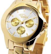 Damen Armbanduhr Slber/Gold Datum Edelstahl GX08007664 von gooix 149,90 UVP