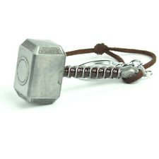 Fashion Silver Color Marvel Avengers Thor's Hammer Keyring 1pc Keychain Jewelry
