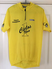 CYCLING JERSEY TOP NALINI NATIONAL TRACK CHAMPION CICLOS UNO SIZE EXTRA LARGE XL