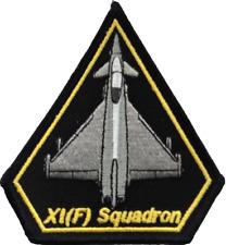 numéro XI (11) (F) Escadron RAF Eurofighter Typhoon fer de lance patch brodé