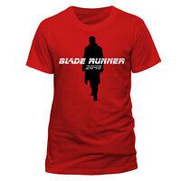 Official Blade Runner 2049 Silhouette Officer K T Shirt Red NEW S M L XL XXL
