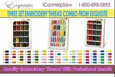 Exquisite Embroidery Thread Three Set Combo-Fall Spring & Summer Collection