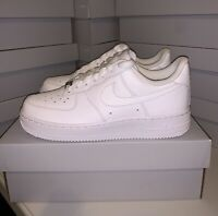 Nike Air Force 1 '07 Triple White 315115-112 Women's Size 7 Brand New in Box