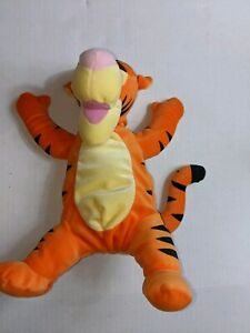 "Disney Winnie Pooh Soft N Silly Plush Tigger 14"" Fisher Price Mattel Stuffed Toy"