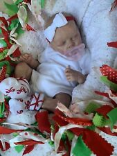 Ooak Reborn newborn baby Girl  reborn baby Holly  Art doll