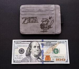 The Legend of Zelda with Link Slim Minimalist Wallet Small Wallet