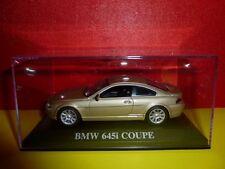 VOITURE SOUS BOITE PLEXI = BMW 645 I COUPE