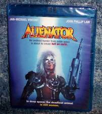 New Scream Factory Jan Michael Vincent Alienator Blu Ray Sci-Fi Movie 1990