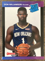 Zion Williamson 1989 Donruss RATED ROOKIE Card 2019-20 Panini Instant 1/3431
