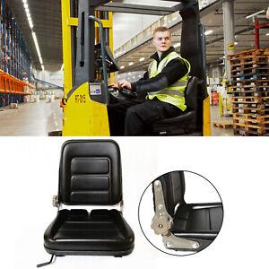 Universal Adjustable Suspension Seat Tractor Dumper Forklift Mower Chair F