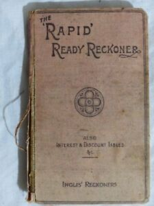The Rapid Ready Reckoner by Gall and Inglis