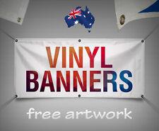 2400x1200mmAU SELLER Custom Outdoor Vinyl Banner/PVC single sided print banner