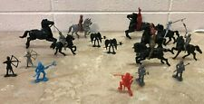 Vintage Plastic Knights and Gothic Gargoyle figures Lido Others