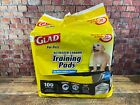 Glad for Pets Black Charcoal Puppy Pads | Puppy Potty Training Pads 100 count