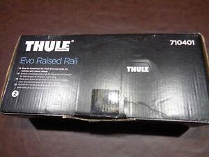 Thule 710401 4pc Raised Foot Pack Roof Rack Mount Kit