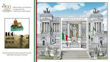 """FRANCOBOLLO - FOGLIETTO ITALIA 2021 NUOVO """" Centenario del MILITE IGNOTO"""""""