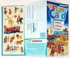 ©Playmobil FUN CARD RÖMER Neu! Sticker/Diorama/Kaiser/Gladiator/Legionär/Galeere