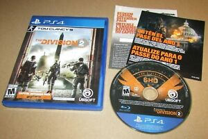 Tom Clancy's The Division 2 for Playstation 4 Fast Shipping