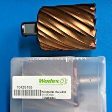 Wodex 1X Muestreador de Cilindro HSS / Core Drill 55 X 55mm Tin