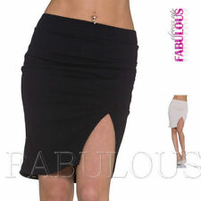Unbranded Viscose Solid Mini Skirts for Women