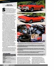 1970 OLDSMOBILE 4-4-2 / 442 W-30 455/370 HP ~ NICE AMAZING STORIES ARTICLE / AD