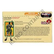 HASBRO GI JOE G.I. JOE - Filecard FC - Modern - Firefly
