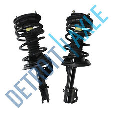 Set of (2) NEW Front Left and Right Complete Strut Springs Shock Quick Assembly