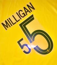 #5 MILLIGAN NAME NUMBER SET FOR 2018 WORLD CUP AUSTRALIA SOCCEROOS HOME JERSEY